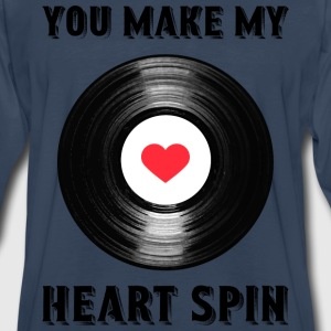 Heart Spin - Men's Premium Long Sleeve T-Shirt