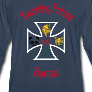 teaching future barons - Men's Premium Long Sleeve T-Shirt