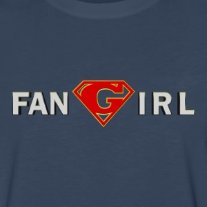 Supergirl - Fangirl - Men's Premium Long Sleeve T-Shirt