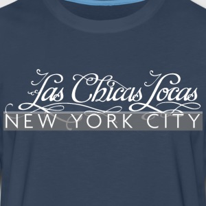 LCL White Logo NYC! - Men's Premium Long Sleeve T-Shirt