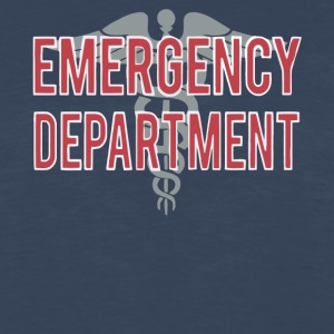 Emergency Department T Shirt - Men's Premium Long Sleeve T-Shirt