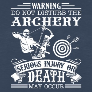 Archery Tee Shirt - Men's Premium Long Sleeve T-Shirt