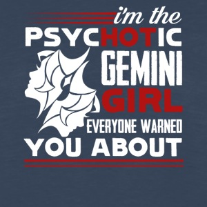 Psychotic Gemini Girl Tee Shirt - Men's Premium Long Sleeve T-Shirt