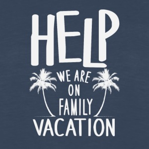 Help We Are On Family Vacation - Men's Premium Long Sleeve T-Shirt