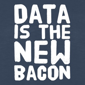 Data Is the New bacon - Men's Premium Long Sleeve T-Shirt
