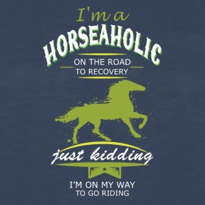 i m a horse on the road - Men's Premium Long Sleeve T-Shirt