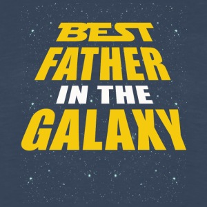 Best Father In The Galaxy - Men's Premium Long Sleeve T-Shirt
