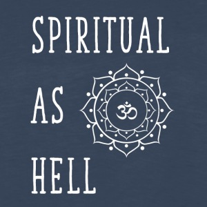 Spiritual as hell - Men's Premium Long Sleeve T-Shirt