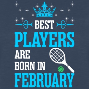 Best Players Are Born In February - Men's Premium Long Sleeve T-Shirt