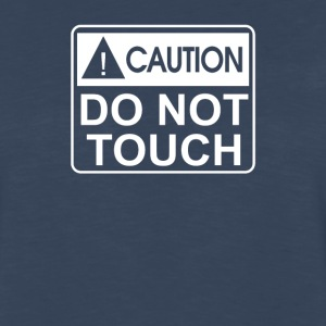 Do Not Touch the Belly Maternity - Men's Premium Long Sleeve T-Shirt