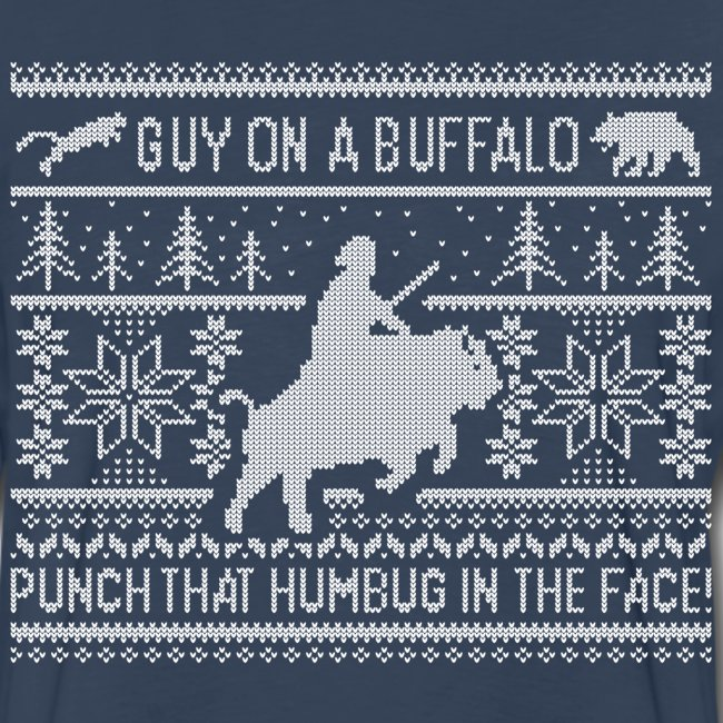 Guy on a Buffalo X-mas 17