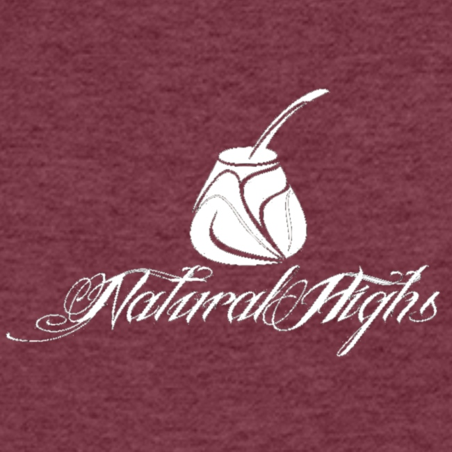 Natural Highs Logo In White