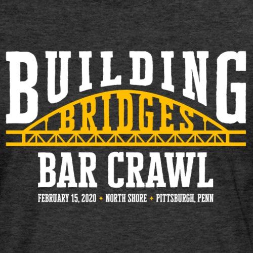 Building Bridges Bar Crawl [Official Event Shirt] - Men's Premium Long Sleeve T-Shirt