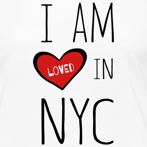 I am loved in NYC - Women's Premium Long Sleeve T-Shirt
