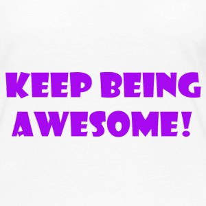 being awesome - Women's Premium Long Sleeve T-Shirt