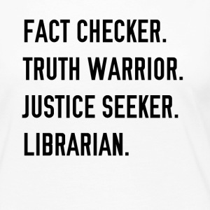 Fact Checker - Women's Premium Long Sleeve T-Shirt