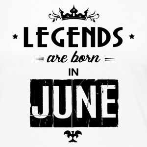 Legends Are Born In June - Women's Premium Long Sleeve T-Shirt