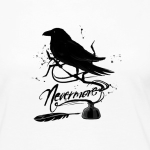 The Black Crow - Women's Premium Long Sleeve T-Shirt