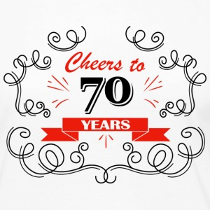 Cheers to 70 years - Women's Premium Long Sleeve T-Shirt
