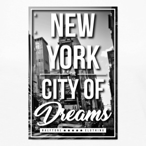 NYC CITY OF DREAMS - Women's Premium Long Sleeve T-Shirt