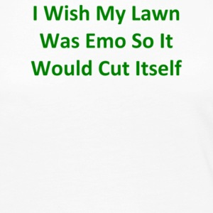 I Wish My Lawn Was Emo So It Would Cut Itself - Women's Premium Long Sleeve T-Shirt