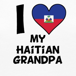 I Heart My Haitian Grandpa - Women's Premium Long Sleeve T-Shirt