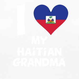 I Heart My Haitian Grandma - Women's Premium Long Sleeve T-Shirt