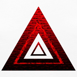 Red Ruby Rose Pyramid - Women's Premium Long Sleeve T-Shirt