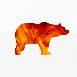 bear burning - Women's Premium Long Sleeve T-Shirt