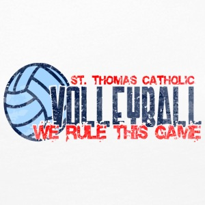 ST Thomas Catholic Volleyball We Rule This Game - Women's Premium Long Sleeve T-Shirt