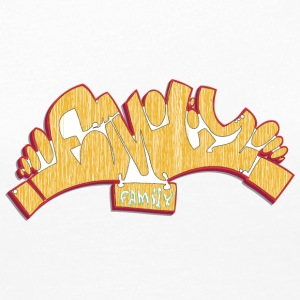 family_graffiti_yellow - Women's Premium Long Sleeve T-Shirt