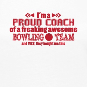 Bowling Coach Funny Gift Tee Shirt - Women's Premium Long Sleeve T-Shirt