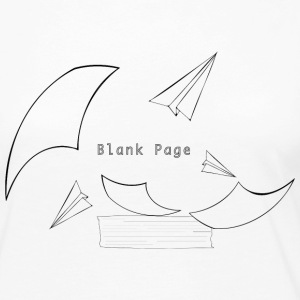 Blank Page Papers Flying - Women's Premium Long Sleeve T-Shirt