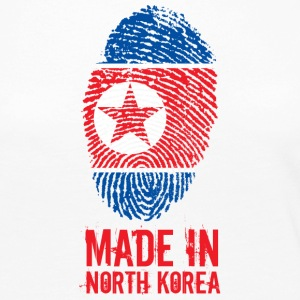 Made In North Korea / 조선민주주의인민공화국 - Women's Premium Long Sleeve T-Shirt