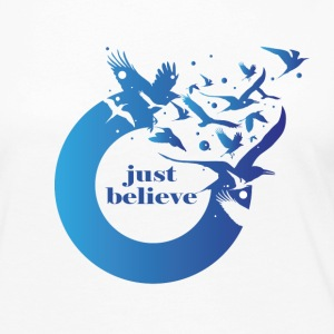 Just Believe - Women's Premium Long Sleeve T-Shirt