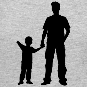 father and son - Women's Premium Long Sleeve T-Shirt