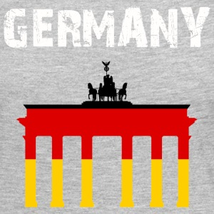 Nation-Design Germany Brandenburg Gate - Women's Premium Long Sleeve T-Shirt