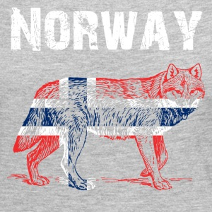 Nation-Design Norway Wolf - Women's Premium Long Sleeve T-Shirt