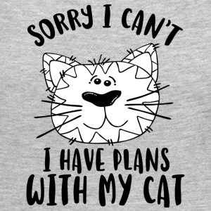SORRY I CAN´T I HAVE PLANS WITH MY CAT - Women's Premium Long Sleeve T-Shirt