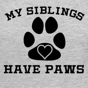 My Siblings Have Paws - Women's Premium Long Sleeve T-Shirt