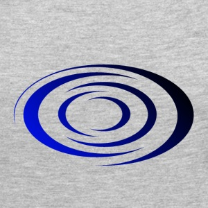 Spiral Blue / Black - Women's Premium Long Sleeve T-Shirt