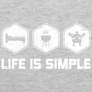 LIFE IS SIMPLE - SQUAD - Women's Premium Long Sleeve T-Shirt