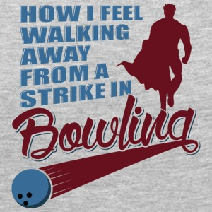 How I feel walking away from a strike in bowling - Women's Premium Long Sleeve T-Shirt