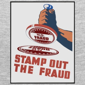 stamp out fraud - Women's Premium Long Sleeve T-Shirt