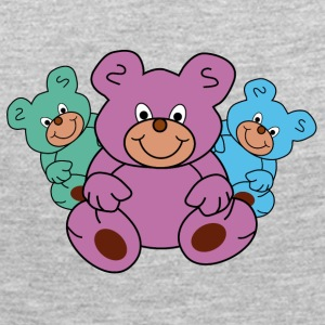 three little teddy bears - Women's Premium Long Sleeve T-Shirt