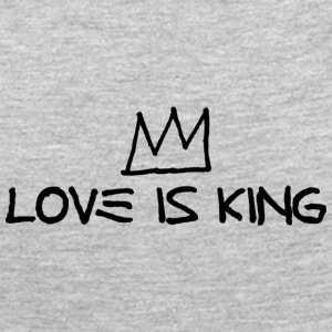 Crown - Love Is King - Women's Premium Long Sleeve T-Shirt