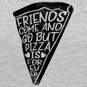 Friends come and go but pizza is forever - Women's Premium Long Sleeve T-Shirt