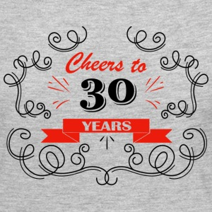 Cheers to 30 years - Women's Premium Long Sleeve T-Shirt