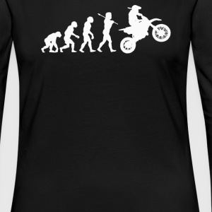 EVOLUTION MOTOCROSS - Women's Premium Long Sleeve T-Shirt