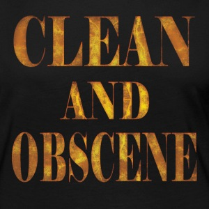 Clean and Obscene words3 - Women's Premium Long Sleeve T-Shirt